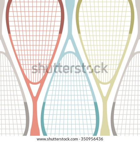 how to draw a realistic squash racket