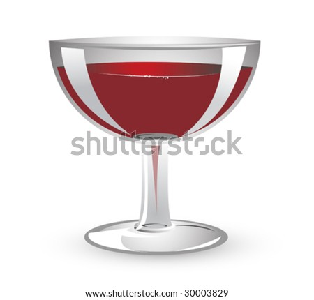 Illustration of a wine glass.