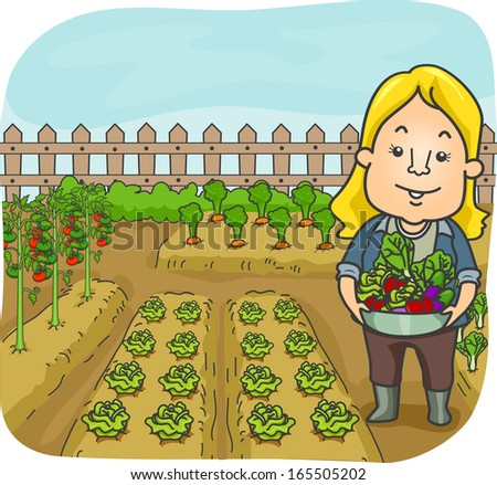 http://thumb9.shutterstock.com/display_pic_with_logo/437/165505202/stock-vector-illustration-of-a-woman-carrying-fruits-and-vegetables-harvested-from-her-garden-165505202.jpg