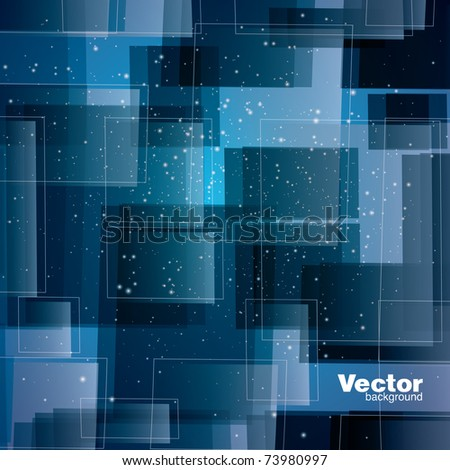 illustration of abstract vector background - stock vector