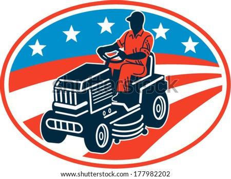 Riding Lawn Mower Stock Images Royalty Free Images