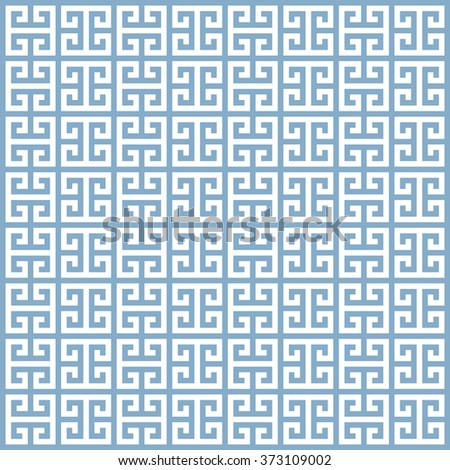 illustration of an ancient greek seamless pattern, eps10 vector - stock vector