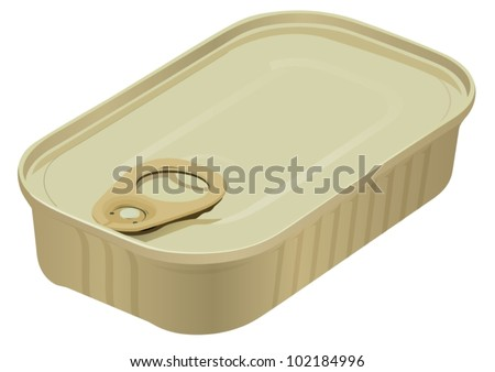 Sardine tin stock images royalty free images vectors for Empty sardine cans