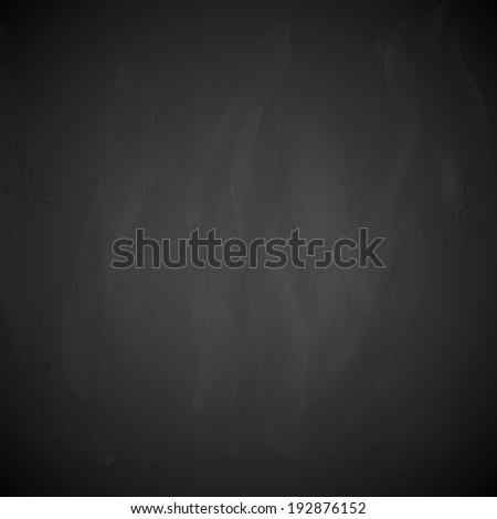 illustration of blank blackboard with copy space - stock vector