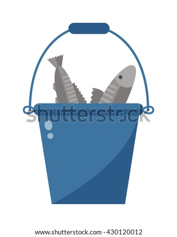 Bucket stock photos royalty free images vectors for Bucket of fish