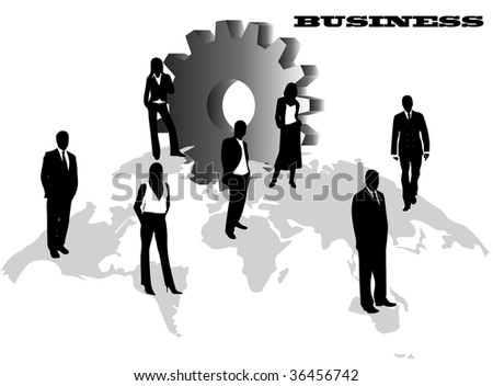 illustration of business