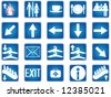 Illustration of buttons - stock vector