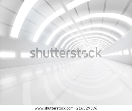 Illustration of hall construction. Vector illustration. - stock vector