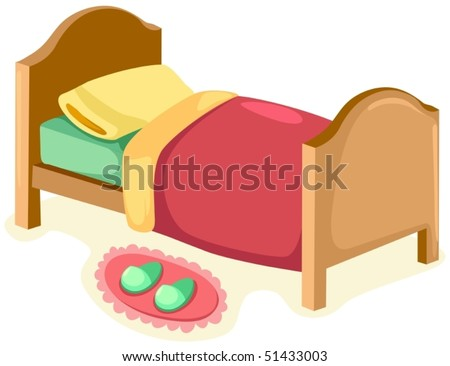 Cartoon Bedroom Stock Images, Royalty-Free Images ...