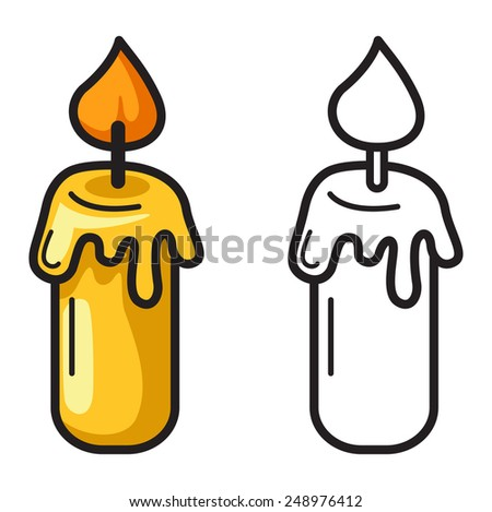 White Candle Color Stock Images, Royalty-Free Images & Vectors ...