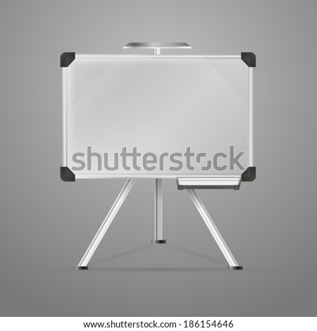 Illustration of magnetic board