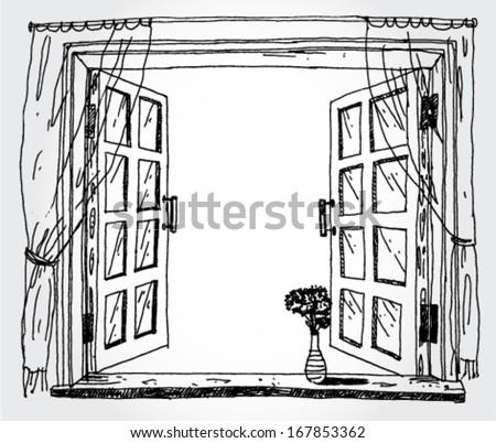 Cartoon+window