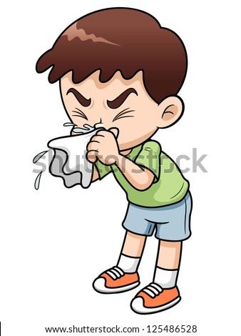 Feeling sick clipart