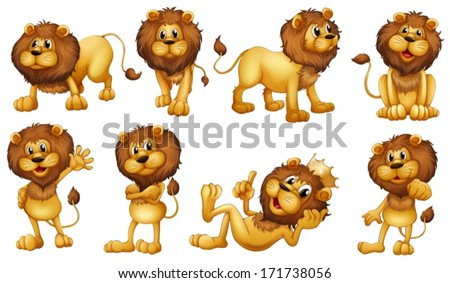 Lion Cartoon Stock Images, Royalty-Free Images & Vectors ...