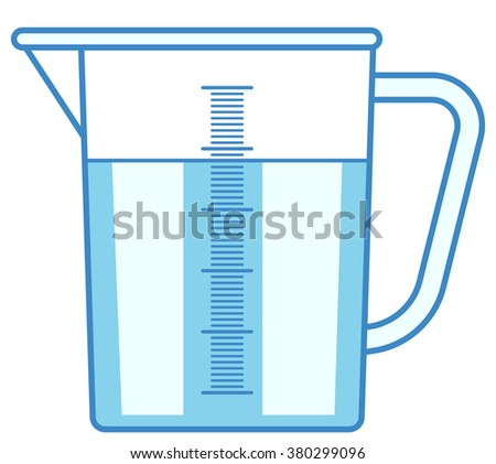 Illustration of the measuring jug icon