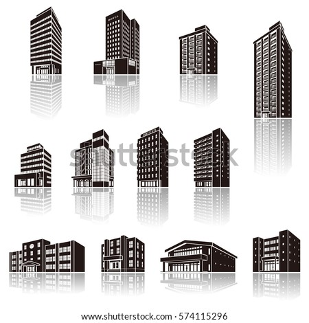 Solid Figure Stock Images, Royalty-Free Images & Vectors ... Rectangular Prism Buildings