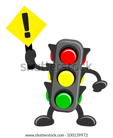 Cartoon Traffic Light Stock Images, Royalty-Free Images & Vectors ...