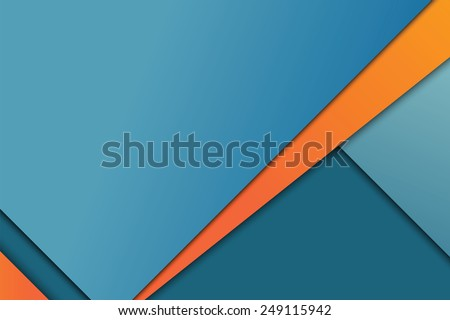 Illustration of unusual modern material design vector background - stock vector