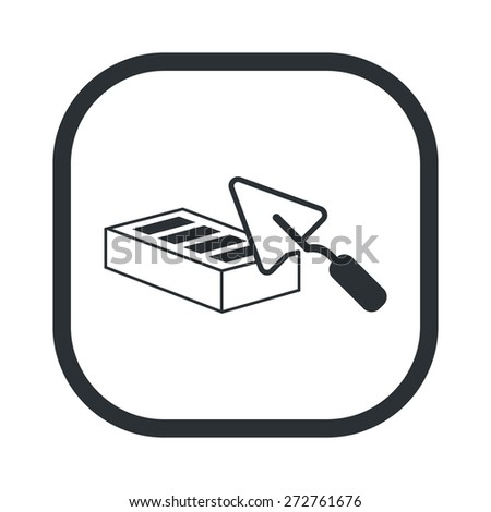 illustration of vector building modern icon in design