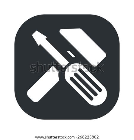 illustration of vector technical modern icon in design - stock vector