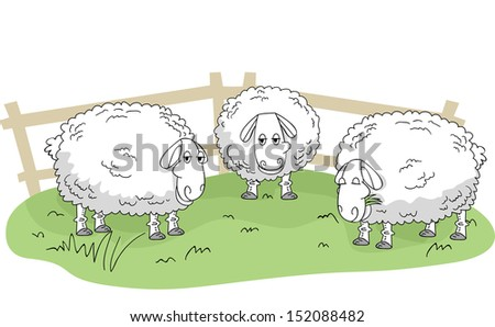 Sheep Pen Stock Images, Royalty-Free Images & Vectors ...