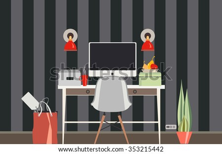 "Illustration "" Office""."
