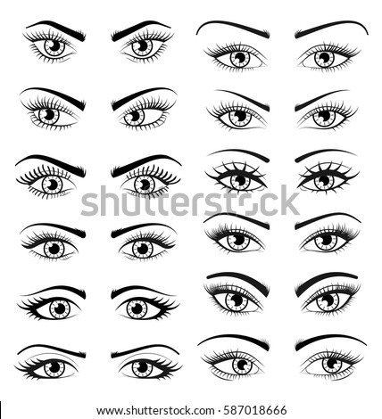 how to draw serious anime eyes