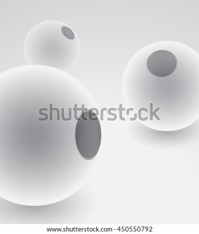 Illustration sphere 3d vector symbol. Isolated ball pearl. Luxury accessory. Jewel metallic bead. Silver jewelry