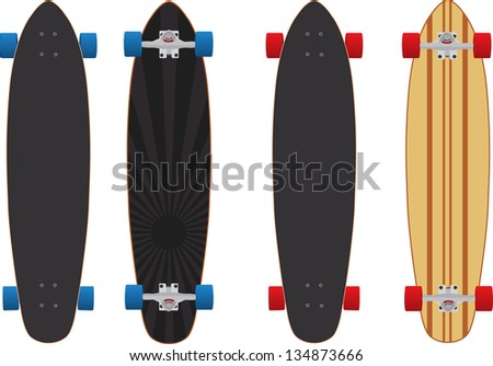 Longboard Skateboard Stock Images, Royalty-Free Images & Vectors ...
