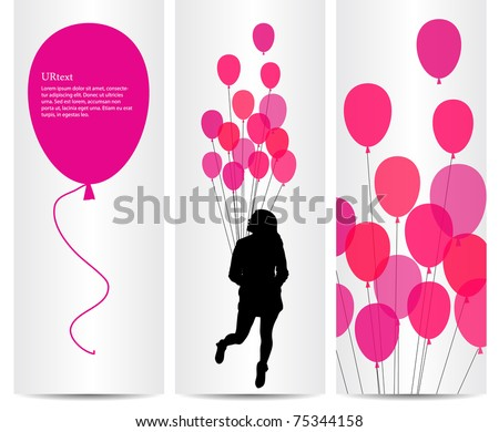 illustration with invites concept for party - stock vector