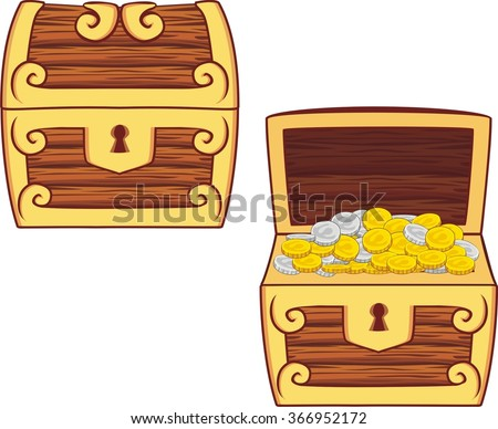 Pirate Treasure Chest Stock Images, Royalty-Free Images ...