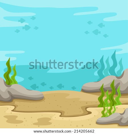 Cartoon Underwater Stock Images, Royalty-Free Images ...