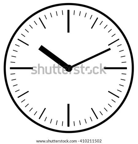 wall clock icon image stock vector 620649773 shutterstock rh shutterstock com Digital Clock Numbers Funny Clock Face Clip Art