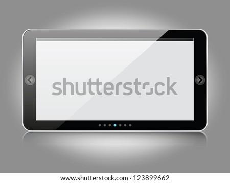 Image sliders - stock vector