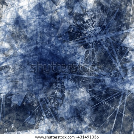 Inc color. Abstract seamless grunge texture. Triangular elements, scratches, streaks, straight thin lines and stains. - stock vector