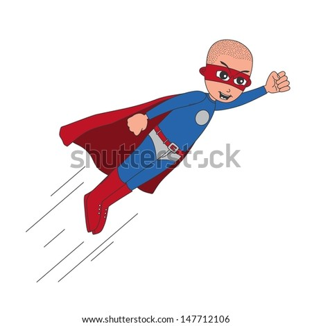 incredible bald superhero