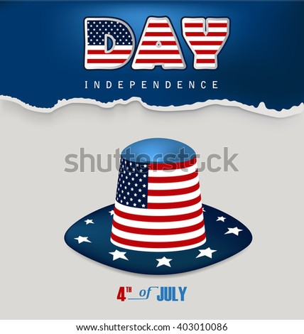 Independence day design  - stock vector