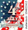 Independence Day- 4 th July - stock vector