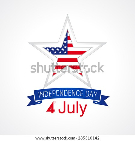 Independence day usa vector card 4 stock vector 285310142 shutterstock independence day usa vector card 4 th of july traditional celebrating greetings united states m4hsunfo