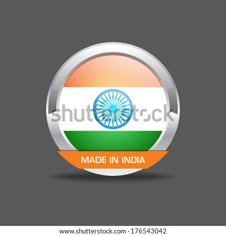 Indian Flag Vector Icon