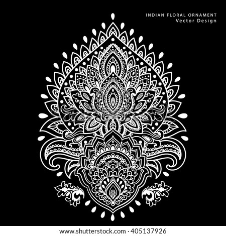 tribal elephant pattern