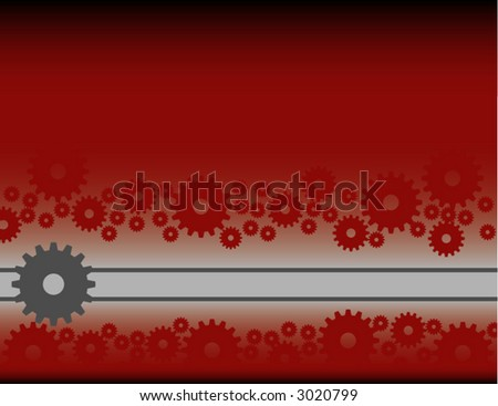 industrial/mechanical background (design element) - stock vector