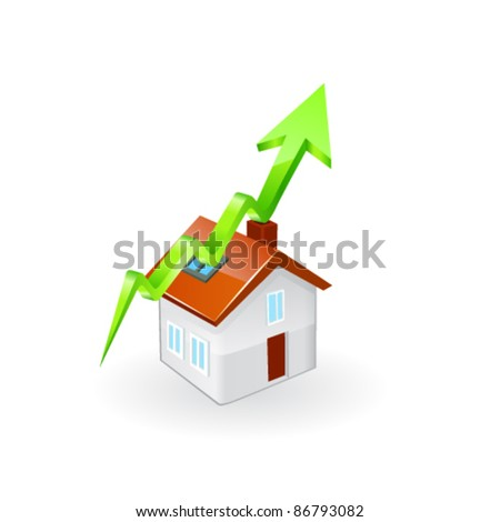 Inflating House Graph