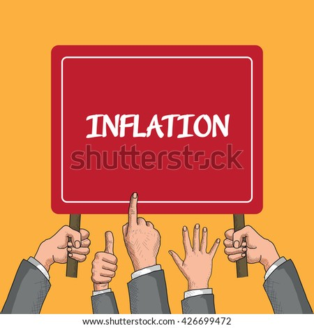 Inflation - stock vector