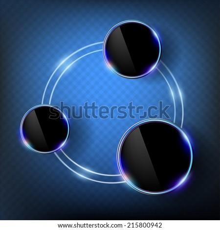 Info graphic design - stock vector
