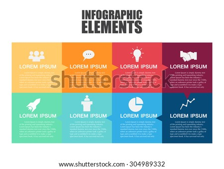Info-graphic design template.Vector illustration