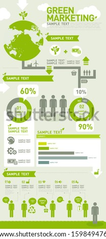 info graphics environment green marketing