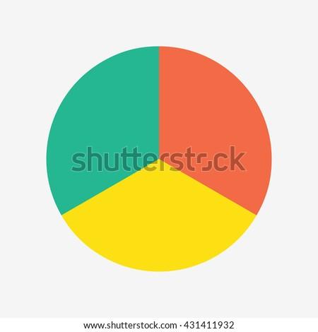 info template pie charts 3 steps stock vector 431411932 shutterstock rh shutterstock com vector pie chart diagram vector pie chart illustrator download