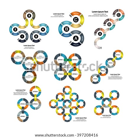 Infographic business presentation template.Business infographic.Layout design.Can be used for diagram, banner, number options, workflow layout, step up options, web design etc.Vector illustration   - stock vector