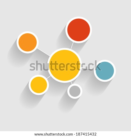Infographic business template vector illustration - stock vector